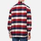 Мужская рубашка Edwin Big Flannel Buffalo Bordeaux/Navy фото - 3