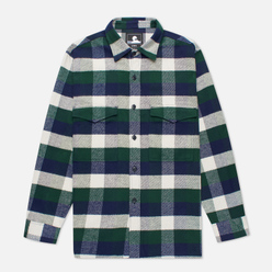 Мужская рубашка Edwin Big Flannel Buffalo Greener Pastures/Navy