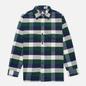 Мужская рубашка Edwin Big Flannel Buffalo Greener Pastures/Navy фото - 0