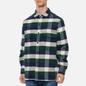 Мужская рубашка Edwin Big Flannel Buffalo Greener Pastures/Navy фото - 2