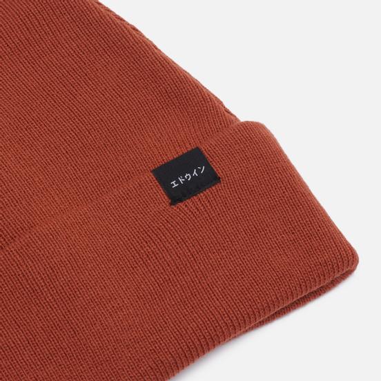 Шапка Edwin New Watch Garment Washed Seville Orange