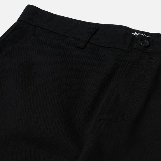 Мужские брюки Carhartt WIP Menson 9 Oz Black Rinsed