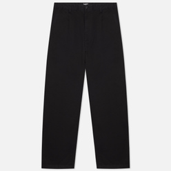 Мужские брюки Carhartt WIP Alder 8 Oz Black Stone Washed