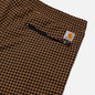 Мужские брюки Carhartt WIP Valiant 6.8 Oz Specter Check/Boysenberry фото - 2