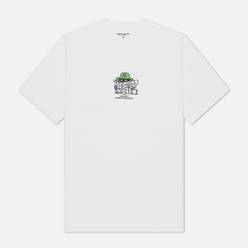 Мужская футболка Carhartt WIP S/S Everything Is Awful White