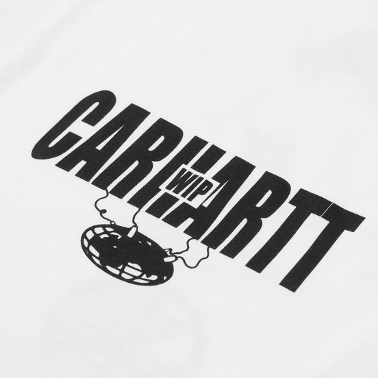 Мужской лонгслив Carhartt WIP L/S Tab White/Black