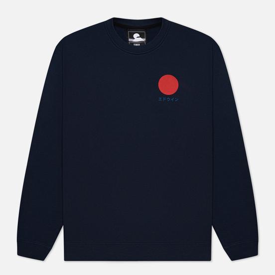Мужская толстовка Edwin Japanese Sun Navy Blazer Garment Washed