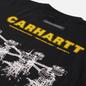 Мужской лонгслив Carhartt WIP Airwaves Black фото - 2