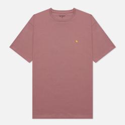 Женская футболка Carhartt WIP W S/S Chase Malaga/Gold