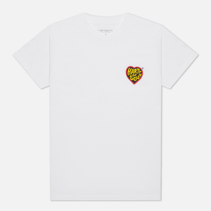 Женская футболка Carhartt WIP W S/S Hartt Of Soul футболка carhartt s s college script t shirt black white xl
