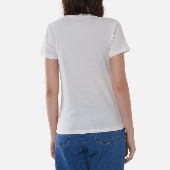Женская футболка Carhartt WIP W S/S Hartt Of Soul White