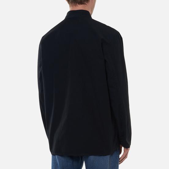 Мужская рубашка Edwin Major Black Garment Dyed Enzyme Wash