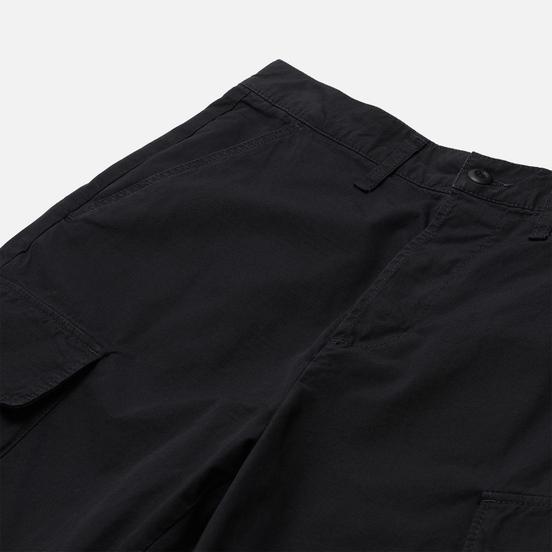 Мужские шорты Edwin Jungle Ripstop Black Garment Dyed Enzyme Wash