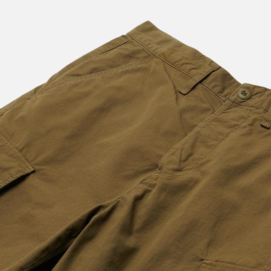 Мужские шорты Edwin Jungle Ripstop Martini Olive Garment Dyed Enzyme Wash