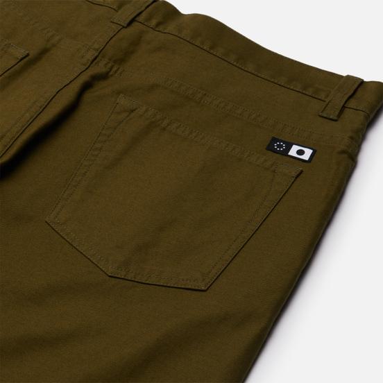 Мужские брюки Edwin Universe Cropped Uniform Green Enzyme Washed