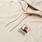 Мужская толстовка Edwin Sunset On Mount Fuji Hoodie Whisper White Garment Washed фото - 1