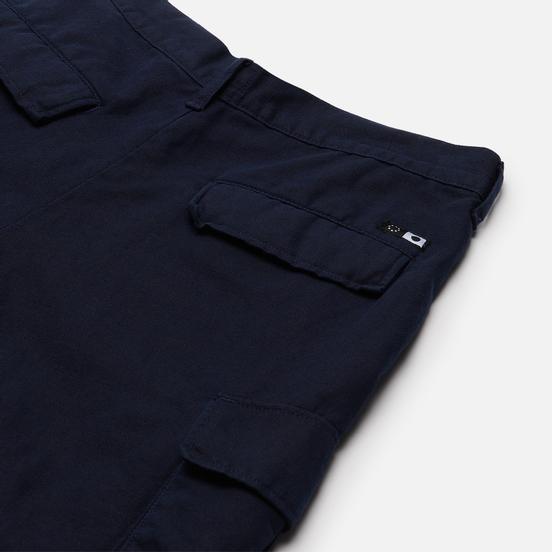 Мужские шорты Edwin Jungle Canvas Navy Blazer Enzyme Washed