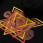 Мужская толстовка Edwin Fortress Collage Hoodie Black Garment Washed фото - 2
