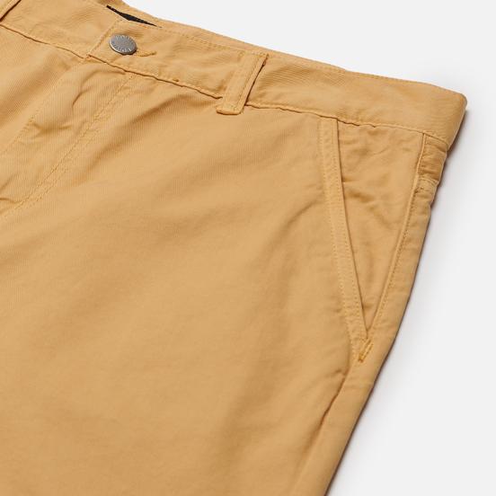 Мужские брюки Edwin Universe Cropped PFD Light Cotton Twill 6.8 Oz Curry Garment Dyed