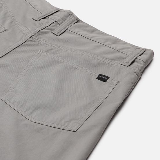 Мужские брюки Edwin Tyrell PFD Light Cotton Twill 6.8 Oz Frost Grey Garment Dyed
