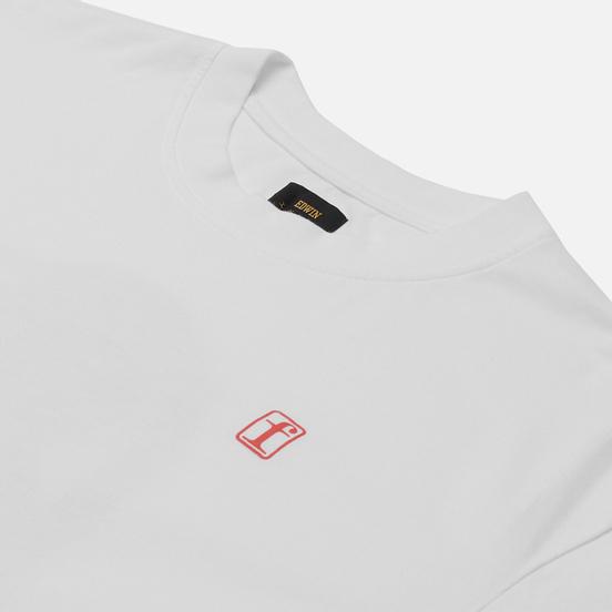 Мужская футболка Edwin Fortress Collage I White Garment Washed