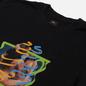 Мужская футболка Edwin Fortress Collage II Black Garment Washed фото - 1