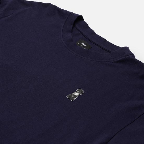 Мужской лонгслив Edwin Doors Of Perception II Maritime Blue Garment Dyed