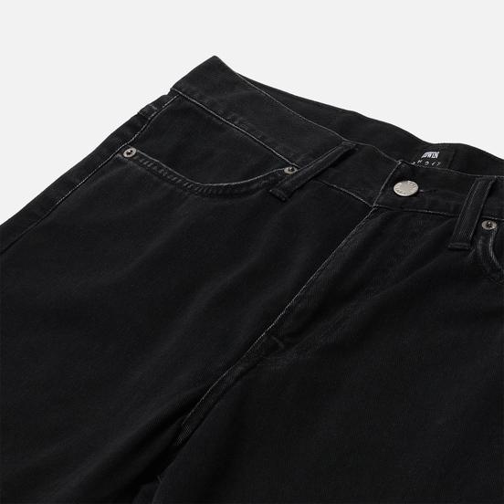 Мужские джинсы Edwin Zakai Wayward Black Left Hand Denim 10 Oz Black Marble Stone Wash