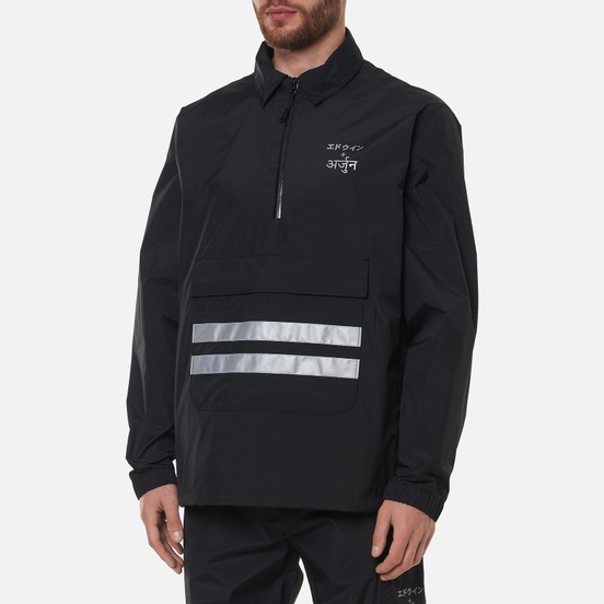 Мужская куртка анорак Edwin x Arjun Reflective Print Black