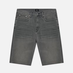 Мужские шорты Edwin ED-45 CS Ink Black Denim 11.5 Oz Black Very Light Trip Used
