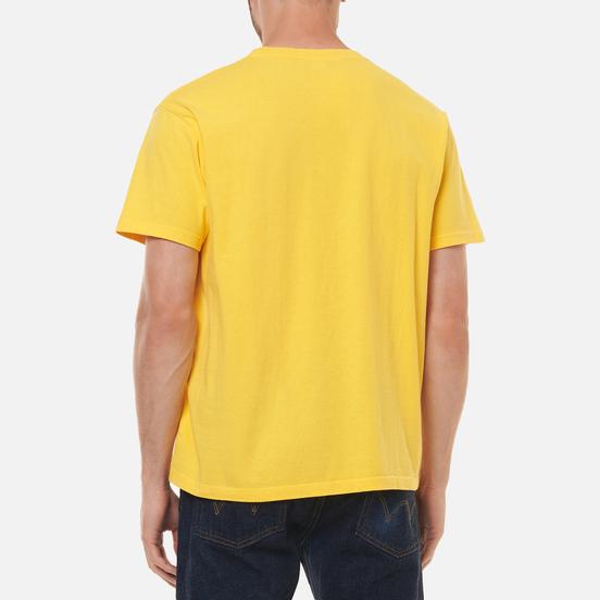 Мужская футболка Edwin Blank Crew Neck Kiku Dye And Ozone