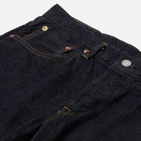Мужские джинсы Edwin Regular Tapered Kaihara Indigo Blue x White Selvage 11 Oz Blue Rinsed