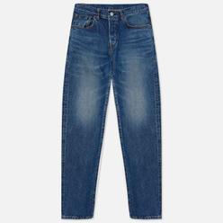 Мужские джинсы Edwin Regular Tapered Kaihara Indigo Blue x White Selvage 11 Oz Blue Mid Used