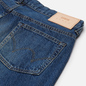 Мужские джинсы Edwin Regular Tapered Kaihara Indigo Blue x White Selvage 11 Oz Blue Mid Used фото - 2