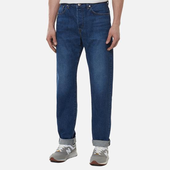 Мужские джинсы Edwin Loose Tapered Kaihara Indigo Blue x White Selvage 11 Oz Blue Mid Used