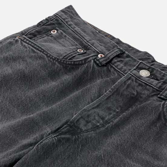 Мужские джинсы Edwin Loose Tapered Kaihara Black x White Selvage 11 Oz Black Light Used