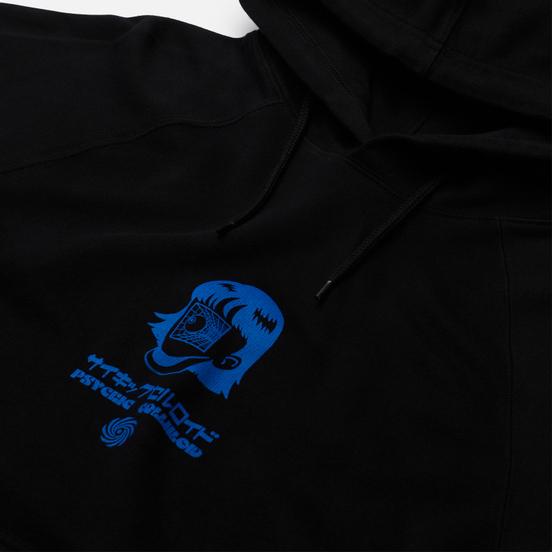 Мужская толстовка Edwin Psychic Celluloid Hoodie Black Garment Washed