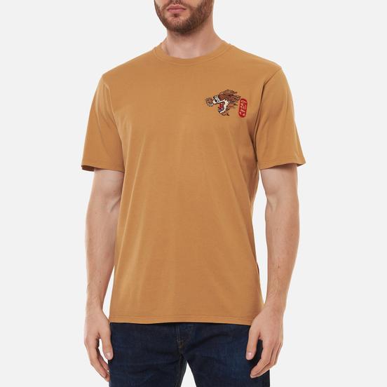 Мужская футболка Edwin Dragon Rabbits Garment Dyed Faded Out