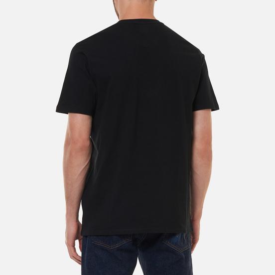 Мужская футболка Edwin Intertwined Black Garment Washed