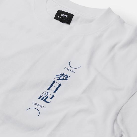 Мужская футболка Edwin Dream Diaries White Garment Washed