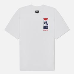 Мужская футболка Edwin Cloudy White Garment Washed