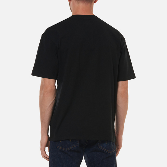 Мужская футболка Edwin Cloudy Black Garment Washed