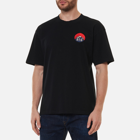 Мужская футболка Edwin Red Dawn Black Garment Washed
