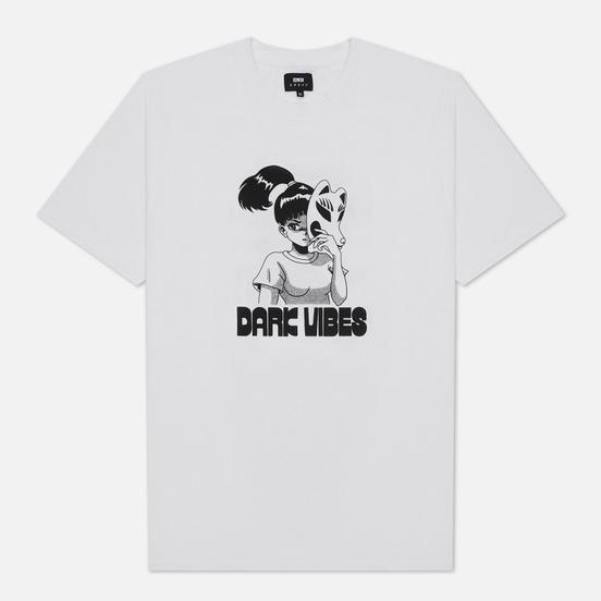 Мужская футболка Edwin Dark Vibes White Garment Washed