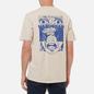 Мужская футболка Edwin Hard Fear Silver Grey Garment Washed фото - 4