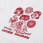 Мужская футболка Edwin Psychic Celluloid White Garment Washed фото - 1