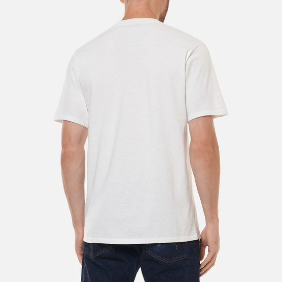 Мужская футболка Edwin Psychic Celluloid White Garment Washed