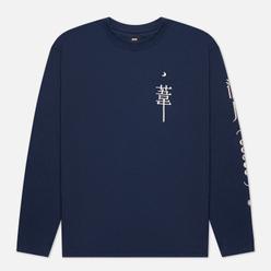 Мужской лонгслив Edwin Dream Diaries II Navy Blazer Garment Washed
