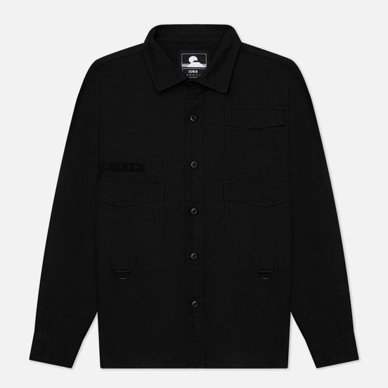 Мужская рубашка Edwin D-Ring Mili Black Enzyme Washed