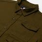 Мужская рубашка Edwin D-Ring Mili Uniform Green Enzyme Washed фото - 1